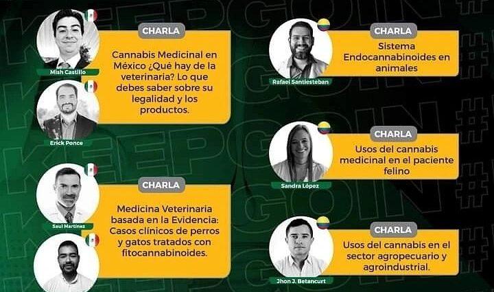 Congreso VetCanna, Red de Cannabis Medicinal hace su Congreso del 1 -4 de Septiembre