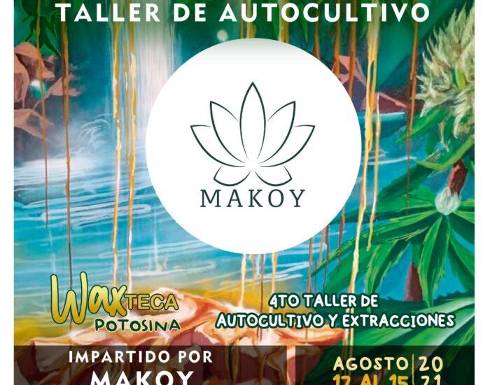 Taller de Autocultivo en San Luis Potosí del 12 al 15 de Agosto 2021 cannatlan