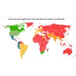 Situación legal del cannabis recreativo, marihuana ludica en el mundo 2021 cannatlan