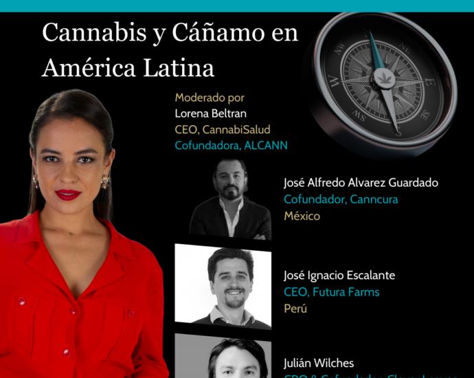 webinar Cannabis y cáñamo en América Latina Cannatlan