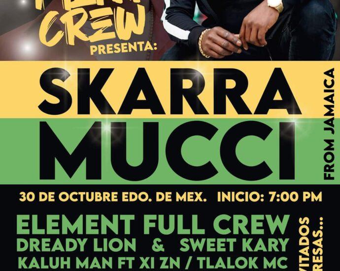 Skaramucci en México este 30 de Octubre cannatlan