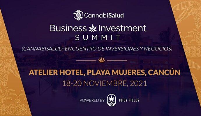 Cannabis Business and Investment Summit en Isla Mujeres, del 18 de 20 noviembre 2021 cannatlan