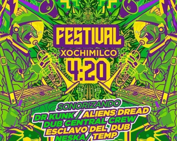 Festival Xochimilco 4:20 20 de noviembre 2021 cannatlan